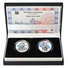 Majster Pavol z Levoče - návrhy mince 10 € sada Ag medailí 1 Oz Proof