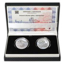 Nalezisko opálov - návrhy mince 20 € sada Ag medailí 1 Oz Proof